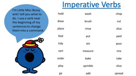 Bossy Verbs
